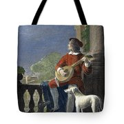 Minstrel, 19th Century Tote Bag by Granger