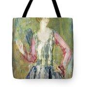 Miss Nancy Cunard Tote Bag by Ambrose McEvoy