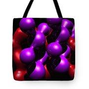 Molecular Abstract Tote Bag by David Lane