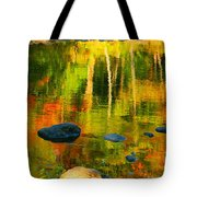 Monet Autumnal Tote Bag by Aimelle