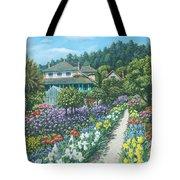 Monet's Garden Giverny Tote Bag by Richard Harpum