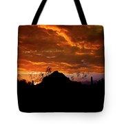 Monsoon Sunset  Tote Bag by Saija  Lehtonen