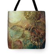 Moon Thread Tote Bag by Michael Lang