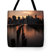 Mooring Eve Tote Bag by Andrew Paranavitana