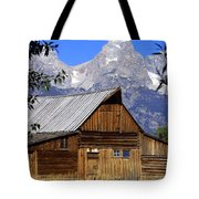 Mormon Row Barn  1 Tote Bag by Marty Koch