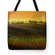 Morning Has Broken Tote Bag by Holly Kempe