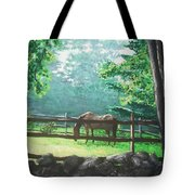 Morning Pasture Tote Bag by Jack Skinner