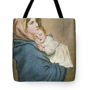 Mother And Child Tote Bag by English School