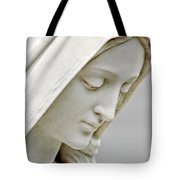 Mother Mary Comes To Me... Tote Bag by Greg Fortier