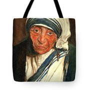 Mother Teresa  Tote Bag by Carole Spandau