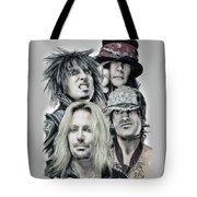 Motley Crue Tote Bag by Melanie D