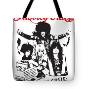 Motley Crue No.01 Tote Bag by Caio Caldas