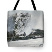 Mount Carmel Eruption Tote Bag by David Mittner