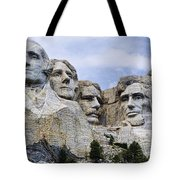 Mount Rushmore National Monument Tote Bag by Jon Berghoff