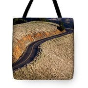 Mountain Road Tote Bag by Garry Gay