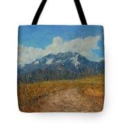 Mountains In Puru Tote Bag by David Lane
