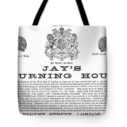 Mourning House, 1891 Tote Bag by Granger