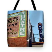Movie Sign 1 Tote Bag by Marilyn Hunt