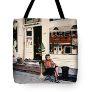Mrs. Persteins Tote Bag by Marguerite Chadwick-Juner