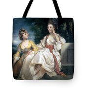 Mrs Thrale And Her Daughter Hester Tote Bag by Sir Joshua Reynolds