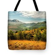 Mt St Helens I Tote Bag by Brian Harig