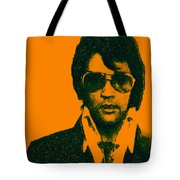 Mugshot Elvis Presley Tote Bag by Wingsdomain Art and Photography
