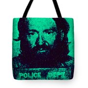 Mugshot Willie Nelson P28 Tote Bag by Wingsdomain Art and Photography