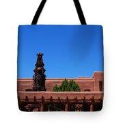Museum Of Indian Arts And Culture Santa Fe Tote Bag by Susanne Van Hulst
