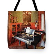 Music - Piano - It's A Long Long Way To Tipperary Tote Bag by Mike Savad