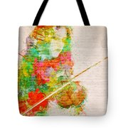 Music In My Soul Tote Bag by Nikki Smith