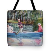 Musky Madness Tote Bag by Marilyn Smith