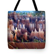 Muted Bryce Tote Bag by Marty Koch