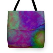 Muted Cool Tone Abstract Tote Bag by Andee Design