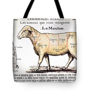 Mutton Tote Bag by French School