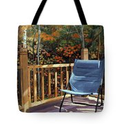 My Favorite Spot Tote Bag by Lynne Reichhart