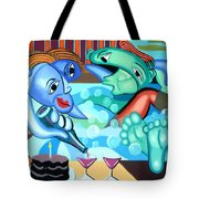 My First  Anniversary Tote Bag by Anthony Falbo