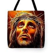 My God  Why Have You Abandoned Me Tote Bag by Pamela Johnson