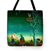 My Old Village  Tote Bag by Leon Zernitsky