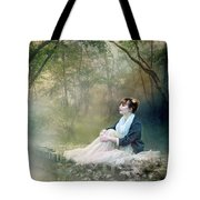 Mystic Contemplation Tote Bag by Mary Hood