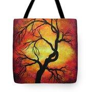 Mystic Firestorm Tote Bag by Jordanka Yaretz