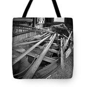 Mystic Seaport Whaling Boat Tote Bag by John Haldane