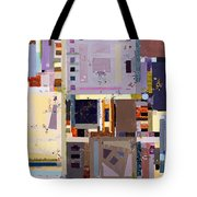 Nano Night Music Tote Bag by Regina Valluzzi