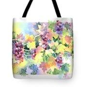 Napa Valley Morning Tote Bag by Deborah Ronglien