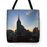 Nashville Skyline Tote Bag by Susanne Van Hulst