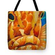 Nassau Grouper  Tote Bag by Daniel Jean-Baptiste
