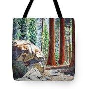National Park Sequoia Tote Bag by Irina Sztukowski