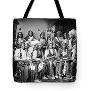 NATIVE AMERICAN DELEGATION, 1877 Tote Bag by Granger