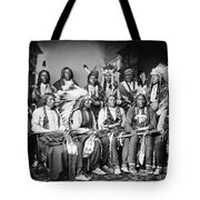 Native American Delegation, 1877 Tote Bag by Granger