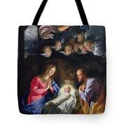 Nativity Tote Bag by Philippe de Champaigne