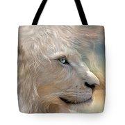 Nature's King Portrait Tote Bag by Carol Cavalaris